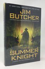 JIM BUTCHER Summer Knight 1st/1st HB/DJ Dresden Files #4