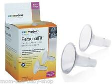 MEDELA BREASTPUMP BREASTSHIELD BREAST SHIELD XL 30 MM x2 RETAIL SEALED #87075