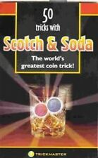 50 Tricks With Scotch & Soda Money Magic Booklet Book And Street No Coins Tips