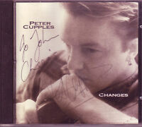 rare original Peter Cupples Changes Australian CD (1994) signed by Peter