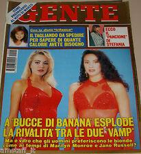 GENTE=1994/5=VALERIA MARINI=GABRIELLA LABATE=KATIA RICCIARELLI=TELLY SAVALAS=