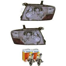 Halogen Headlight Set Mitsubishi Pajero 01.03-12.06 H4 without Motor 1380188