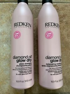 redken diamond Oil Shampoo And Conditioner Double Pack 500ml X2