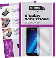 2x Samsung Galaxy A5 (2017) Schutzfolie klar Displayschutzfolie Folie dipos