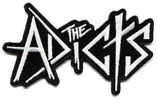 THE ADICTS logo EMBROIDERED IRON-ON PATCH *Free Shipping applique punk sew p1941