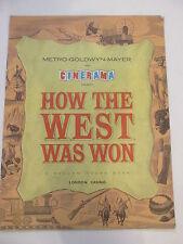 How The West Was Won Original Film Programme 1962 cast list photos etc