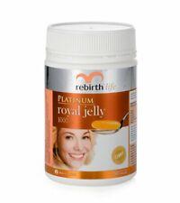Rebirth-Life Platinum Royal Jelly 1,000mg 60 Capsules