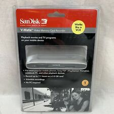 SanDisk V-Mate Video Memory Card Recorder (SDVM1-A-A30) - Brand New - Sealed
