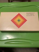 Polaroid SX-70 Land Camera Accessory Kit (read Description)