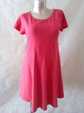 Cotton Blend Short Sleeve Skater Maternity Dresses