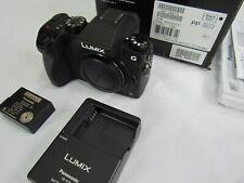 Panasonic Lumix DMC-G7 16MP Mirrorless Digital Camera - Black (Body only)
