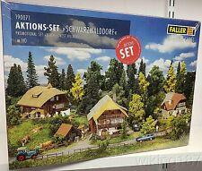 FALLER/Marklin #190071 HO 1/87 Scale KIT 5 Piece Black Forest Village Set
