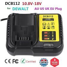 DEWALT DCB112 18V Fast Li-ion Battery Charger for Drill Saw Grinder 100-260V AU