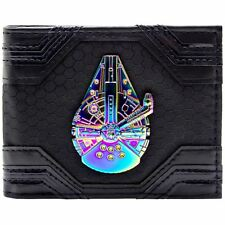 Official Star Wars Millennium Falcon Iridescent ID & Card Bi-fold Wallet
