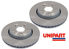 Pair Vented fits HONDA CR-V RE6 1.6D Front 2015 on N16A1 315mm 2x Brake Discs