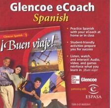 Glencoe eCoach Spanish 1  Buen viaje! CD  (N)(R3S4-3)R