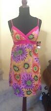 NWT Fire Los Angeles Pink Floral Sundress Small
