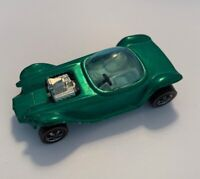 1967 Vintage Mattel Hot Wheels Beatnik Bandit Green Toy Car Hong Kong