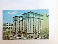 Manger Hamilton Hotel Washington DC Postcard Purple Tree Lounge