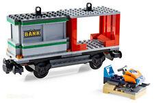 LEGO® City Eisenbahn Containerwaggon mit Bauanleitung aus Güterzug 60198 NEU
