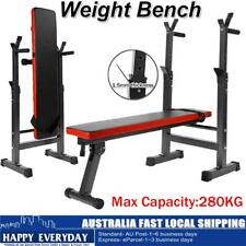 Multi-station Weight Bench Press Fitness Weights Equipment Incline 280kg AU