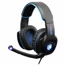 SADES SA-923 Hammer Gaming Headset Blue Virtual 7.1 Surround Sound 50mm Driver