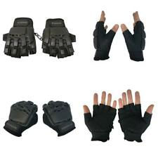 Maddog Tactical Half-Finger Paintball Airsoft Gloves Large / X-Large, Black