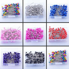 200 PCE COLOUR OF YOUR CHOICE  DRESSMAKING PINS FOR ALL YOUR  SEWING CRAFT NEEDS