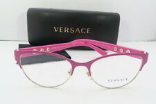 8e14daee6576 Versace Women s Pink Glasses With Case Mod 1237 1384 53mm