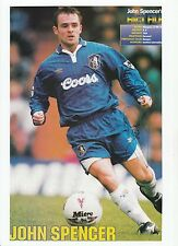 JOHN SPENCER CHELSEA 1993-1996 ORIGINAL HAND SIGNED MAGAZINE CUTTING