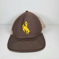 Cowboy Golf Tan Snapback Trucker Hat Cap Bullriding Golfer