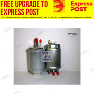 Wesfil Fuel Filter WCF90 fits Ssangyong Actyon Sports 2.0 Xdi