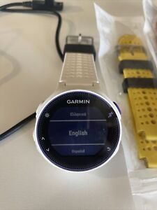 Garmin Forerunner 230 GPS Running Watch- White/Purple W/ Extra Bands