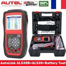 Autel Testeur de Batterie OBD2 Valise Diagnostique Scanner Multimarque AL539B FR