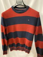 Vintage Tommy Hilfiger Striped Knit Sweater, Small
