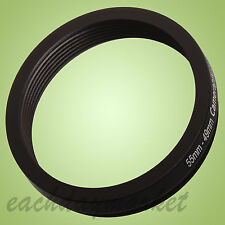 55mm to 49mm 55-49 mm 55-49mm 55mm-49mm Step Down Lens Filter Ring Adapter UK