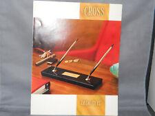 Cross Vintage l966 Desk Set Catalog--A.T.Cross Company
