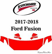 3M Scotchgard Paint Protection Film Clear Bra Pre-Cut 2017 2018 Ford Fusion