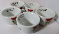 (5) Rare Illy Espresso Kiki Smith Collection Coffee Cups IPA Italy 42 Butterfly