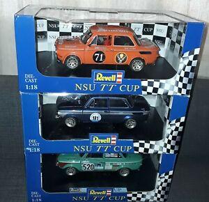 Revell Nsu TT Cup 1:18 3 Stück Ovp Nagelneu Limited Edition