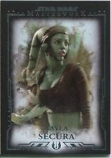 Star Wars Masterwork Premium Base Card #28 Aayla Secura