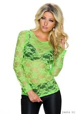 Ladies Lace Vest Tank Top   SEXY SEE THROUGH DESIGN   Cute Summer Holiday Party