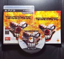 Twisted Metal (Sony PlayStation 3, 2012) PS3 Game - FREE POST