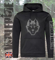 Carbon fibre mountain bike performance hoodie MTB hooded top, wicking technical