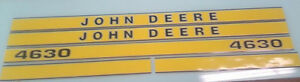 John Deere 4630 Hood Decals