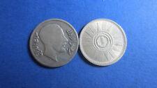 Irak Silber Faisal I 20 Fils 1933 in s + 25 Fils 1959 in vz+ (4960)