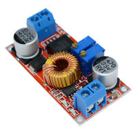 2Pcs Lithium Charger Step down 5A 5V-32V to 0.8V-30V Power Supply Module