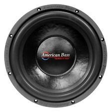 """NEW AB DVC 15"""" 1000W Subwoofer Bass Speaker.Dual 4ohm.Car Audio Woofer Sub.15in"""