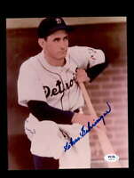 Charlie Gehringer PSA DNA Coa Hand Signed 8x10 Photo Autograph