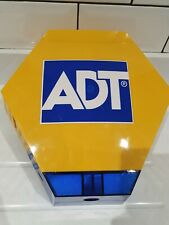 ADT DUMMY BELL BOX LATEST VERSION COMPLETE WITH SOLAR LED'S + BATTERY PACK